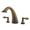 Pfister Catalina Velvet Aged Bronze 2-Handle Fixed Deck Mount Tub Faucet
