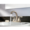 Pfister Selia Brushed Nickel 2-Handle 4-in Centerset WaterSense Bathroom Faucet (Drain Included)