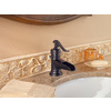 Pfister Ashfield Tuscan Bronze 1-Handle 4-in Centerset WaterSense Bathroom Faucet (Drain Included)