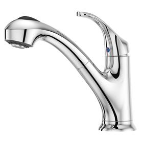 Pfister Shelton Polished Chrome 1-Handle Pull-Out Kitchen Faucet
