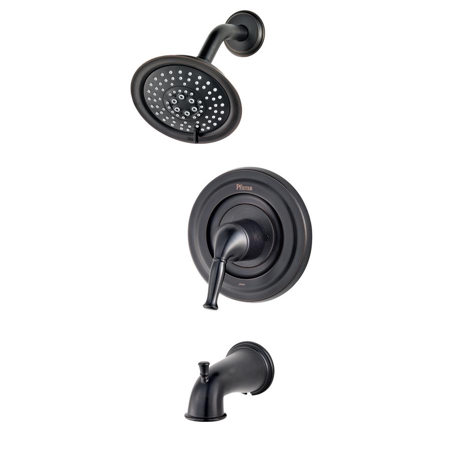 shop pfister universal tuscan bronze 1 handle bathtub and shower faucet trim kit with multi. Black Bedroom Furniture Sets. Home Design Ideas