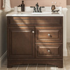 Pfister Arlington Tuscan Bronze 2-Handle 4-in Centerset WaterSense Bathroom Faucet (Drain Included)