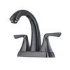 Pfister Selia Tuscan Bronze 2-Handle 4-in Centerset WaterSense Bathroom Faucet (Drain Included)