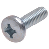 The Hillman Group 3-Count 8mm to 1.25 x 16mm Pan-Head Zinc-Plated Metric Machine Screws