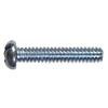 Blue Hawk 50-Count #14 1/4-in- 20 x 1-1/4-in Round-Head Zinc-Plated Slotted-Drive Standard (SAE) Machine Screws