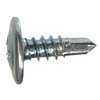 Blue Hawk 100-Count #8 x 0.5625-in Zinc-Plated Self-Drilling Interior/Exterior Sheet Metal Screws