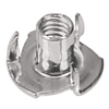 Blue Hawk 25-Count 5/16-in Zinc-Plated Standard (SAE) 3-Prong Tee Nuts