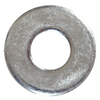Blue Hawk 100-Count 1/4-in x 3/4-in Zinc-Plated Standard (SAE) Flat Washers