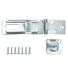 Gatehouse 4-1/2-in Zinc-Plated Swivel Staple Safety Hasp