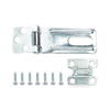 Gatehouse 3-1/2-in Zinc-Plated Fixed Staple Safety Hasp