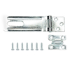 Gatehouse 4-1/2-in Zinc-Plated Fixed Staple Safety Hasp