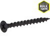 Fas-n-Rite 25-lb #6 x 1.625-in Bugle-Head Black Phosphate Drywall Screw