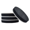 The Hillman Group 4-Pack 5-in Round Reusable Felt Hard Surface Sliders
