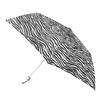 totes 8.5-in Zebra Manual Mini Umbrella