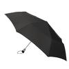 totes 13.5-in Black Automatic Compact Umbrella