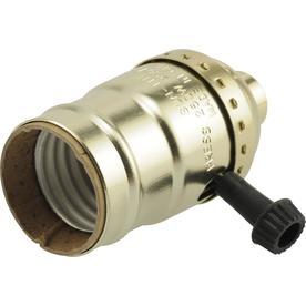 SERVALITE 75-Watt Black Lamp Socket