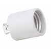 SERVALITE 60-Watt Grey Hard-Wired Lamp Socket