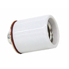 SERVALITE 250-Watt White Ceiling Socket