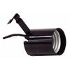 SERVALITE 75-Watt Black Hard-Wired Light Socket