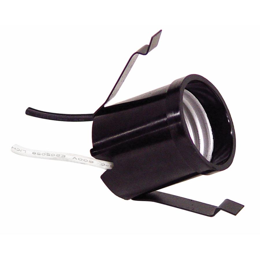 Servalite 250 Watt Black Hard Wired Light Socket Shop Cooper Wiring Devices 660watt Brass Lamp At Lowescom
