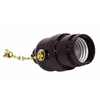 SERVALITE 75-Watt Black Hard-Wired Light Socket