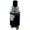 SERVALITE 0.75-Amp Black Momentary Light Switch