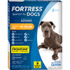 Adams 3-Pack 0.408-oz Flea and Tick Topical Liquid for Dogs