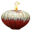 allen + roth Prometheus 12.01-in Redstone Ceramic Fire Pot