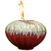 allen + roth Prometheus 9.06-in Redstone Ceramic Fire Pot