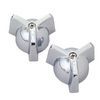 Streamway 2-Pack Chrome Faucet Handles