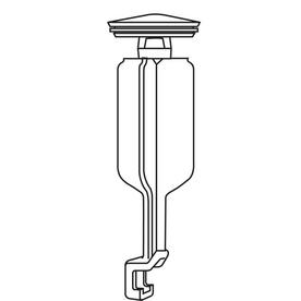 Pfister Brass Pop-Up Drain Stopper