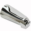Mixet 5-1/8-in Chrome Tub Spout with Diverter