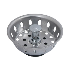 BrassCraft 3-1/2-in dia Stainless Steel Stopper Replacement Basket