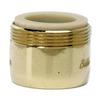 BrassCraft 15/16-in 27-Male x 55/64-in 27-Female Brass Slotless Aerator Adapter