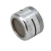 BrassCraft 15/16-in 27-Male Thread x 55/64-in 27-Female Thread Chrome Slotted Aerator Adapter