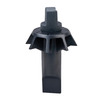 BrassCraft 3-1/2-in dia Black Stopper Garbage Disposal Stopper