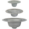 BrassCraft 3-Pack 2-in Stainless Steel Stainless Steel Kitchen Sink Strainer Basket