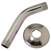 BrassCraft Brushed Nickel Shower Arm and Flange