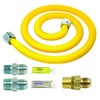 BrassCraft Safety Plus Gas Installation Kit for Range, Furnace and Boiler