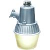 Brinks 70-Watt Silver CFL Dusk-to-Dawn Security Light