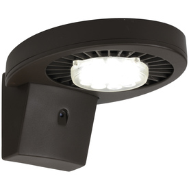 Brink's Home Security 35.5-Watt Brown LED Dusk-To-Dawn Security Light