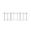 Gatehouse 36-in x 6-ft White Flat-Top Picket Vinyl Fence Panel