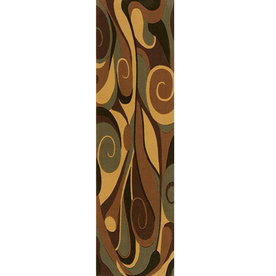 Momeni Multicolor Woven Runner (Common: 2-ft x 7-ft; Actual: 2.5-ft x 7.5-ft)