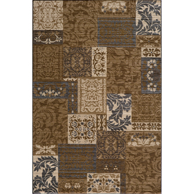 Momeni Fulton 24-in x 36-in Rectangular Tan Transitional Accent Rug
