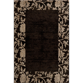 Momeni Crosby Rectangular Black Border Woven Accent Rug (Common: 2-ft x 3-ft; Actual: 24-in x 36-in)