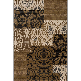 Momeni Bond 47-in x 67-in Rectangular Cream/Beige/Almond Transitional Area Rug