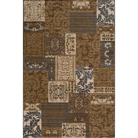 Momeni Fulton Brown Rectangular Indoor Woven Area Rug (Common: 5 x 8; Actual: 63-in W x 90-in L)