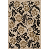 Momeni Jerome 63-in x 90-in Rectangular Cream/Beige/Almond Floral Area Rug