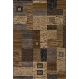 Momeni Hudson Rectangular Cream Geometric Woven Area Rug (Common: 10-ft x 13-ft; Actual: 9.25-ft x 12.5-ft)