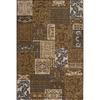 Momeni Fulton Brown Rectangular Indoor Woven Area Rug (Common: 10 x 13; Actual: 111-in W x 150-in L)